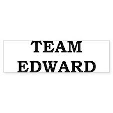 """""""Team Edward"""" Bumper Bumper Sticker"""