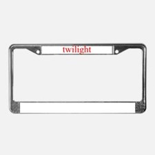 """Twilight"" License Plate Frame"