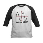 What's Your Sine? Kids Baseball Jersey