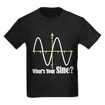 What's Your Sine? Kids Dark T-Shirt