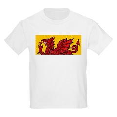Red Welsh Kids T-Shirt