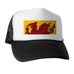 Red Welsh Trucker Hat