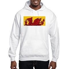 Red Welsh Hoodie
