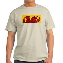 Red Welsh Ash Grey T-Shirt
