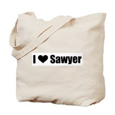 I Heart Sawyer Tote Bag
