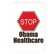 Stop Obama Healthcare Postcards (Package of 8)