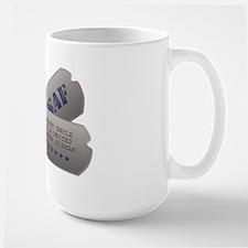 Uncle Dog Tags Mug
