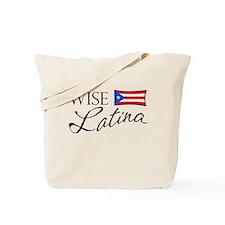 Wise Latina (PR) Tote Bag