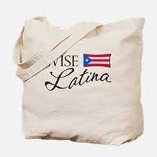 Wise Latina (PR) Tote Bag