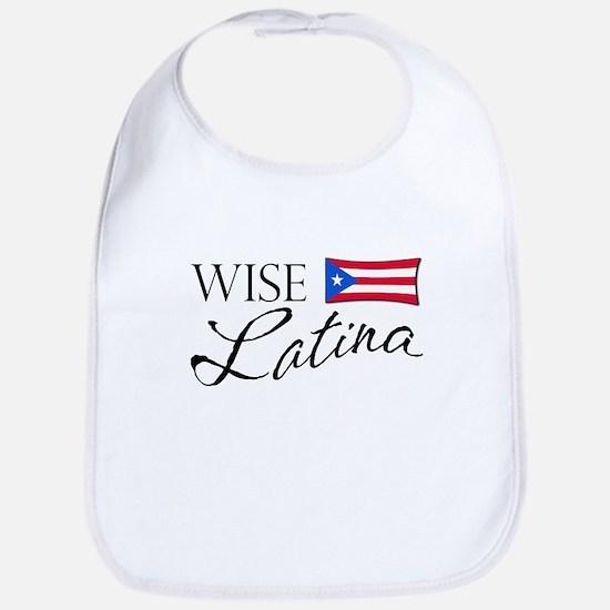 Wise Latina (PR) Bib