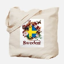 Butterfly Sweden Tote Bag
