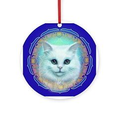 Kitty Ornament (Round)