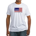 Patriotic President Vilsack Fitted T-Shirt