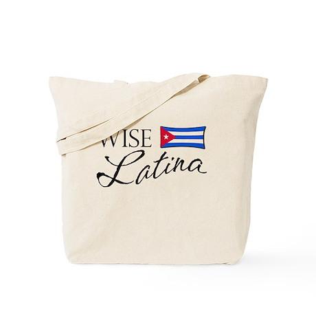 Wise Latina (Cuban) Tote Bag