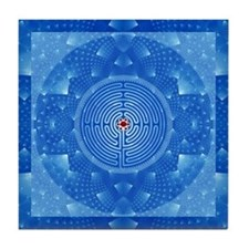 Crystal Labyrinth Tile Coaster