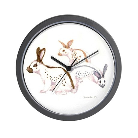 English Spot Wall Clock