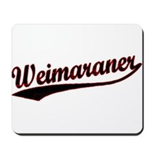 Weimaraner Varsity Mousepad