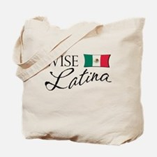 Wise Latina (Mexican) Tote Bag