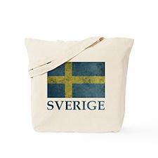 Vintage Sweden Tote Bag