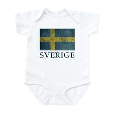 Vintage Sweden Infant Bodysuit