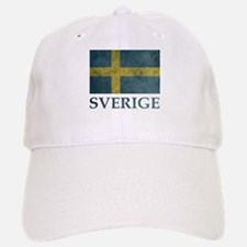 Vintage Sweden Baseball Baseball Cap