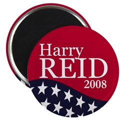 Harry Reid 2008 Magnet