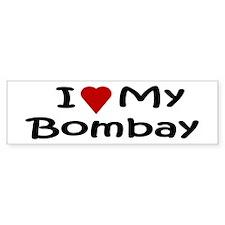 Bombay Bumper Bumper Sticker
