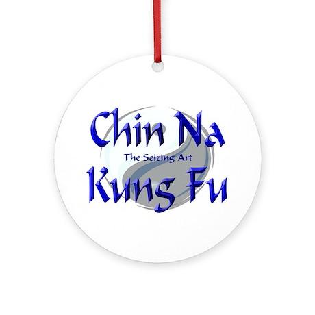 Chin Na Kung Fu Ornament (Round)