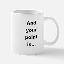 Rude t-shirt Mug