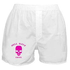 Hell Aviv (pink) Boxer Shorts