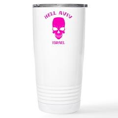 Hell Aviv (pink) Stainless Steel Travel Mug