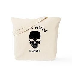 Hell Aviv (Black) Tote Bag