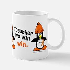 Winter Penguin 5 (Orange) Mug