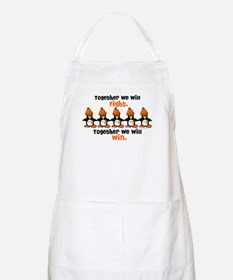 Winter Penguin 5 (Orange) BBQ Apron
