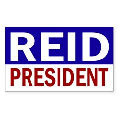 Harry Reid for President (bumper sticker)