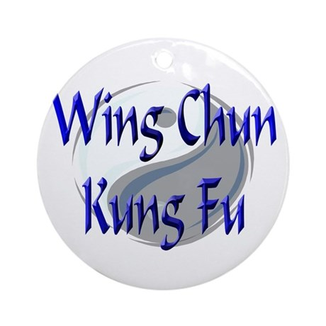 Wing Chun Kung Fu Ornament (Round)