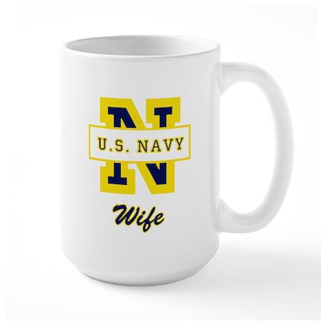 N Wife Large Mug