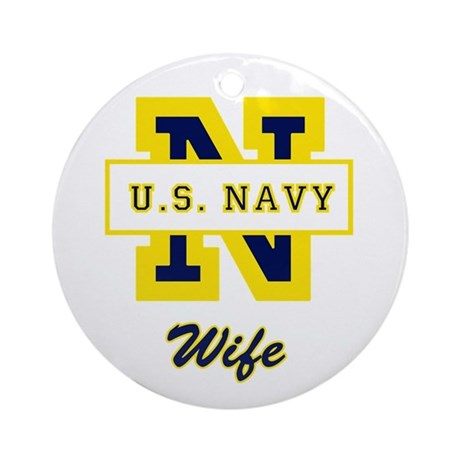 N Wife Ornament (Round)