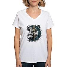 Grunge Celtic Moon and Sword Shirt
