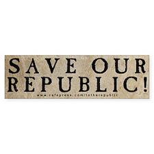 SAVE OUR REPUBLIC single (Bumper)
