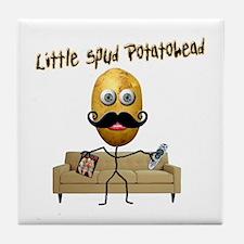 Little Spud Potatohead Tile Coaster