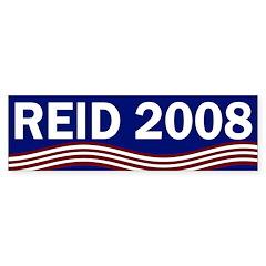 Harry Reid 2008 bumper sticker