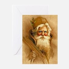 Old World Santa Claus Greeting Cards (Pk of 10)