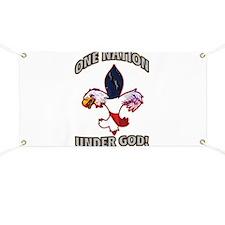 One Nation Under God Banner