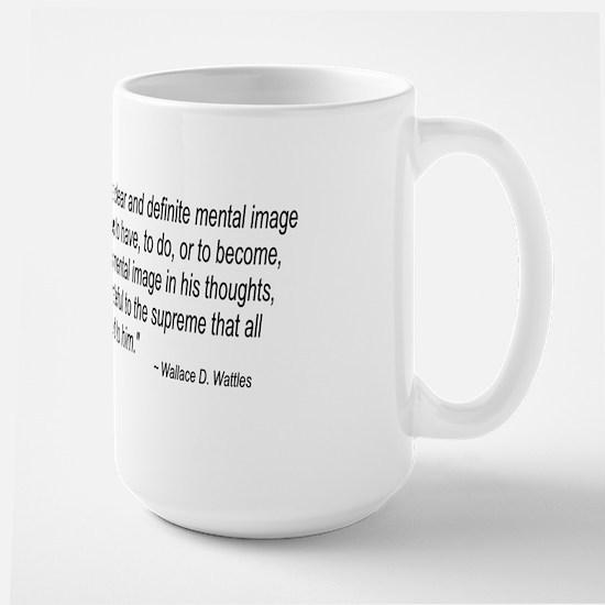 Wallace Wattles Large Mug