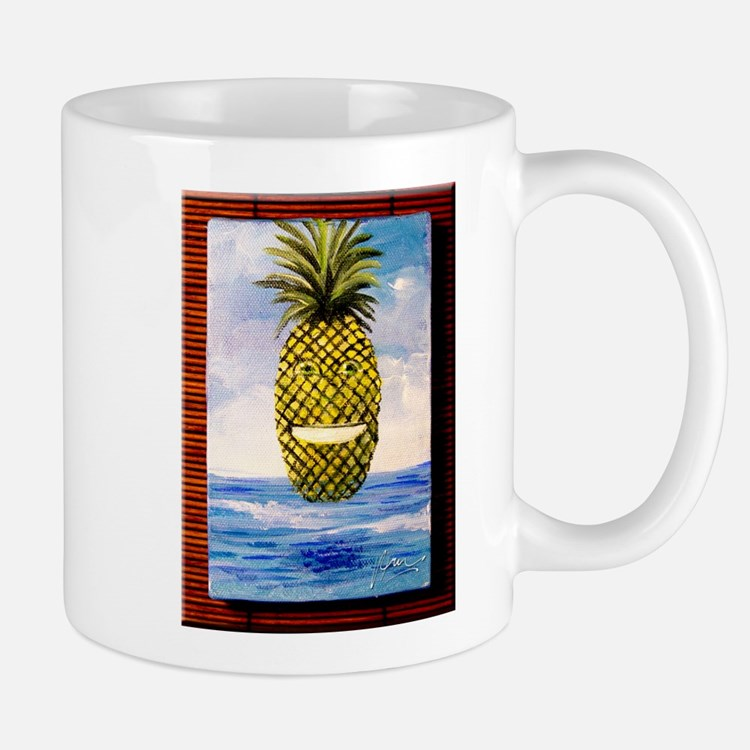 Smiling Pineapple Mug
