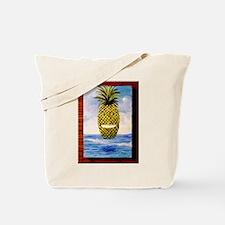 Smiling Pineapple Tote Bag