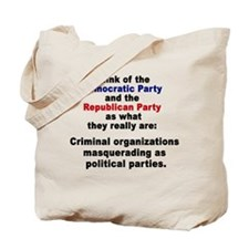 THrow the Bums Out Tote Bag