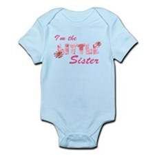 i'm the little sister daisy Infant Bodysuit