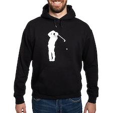 Golfer Silhouette Hoodie